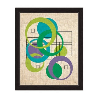 Forest Bubble Boxes Framed Graphic Art
