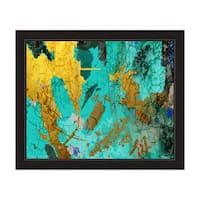 """Map of the Ocean"" Framed Graphic Art"