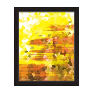 """Crystalize"" Graphic Framed Art Print"