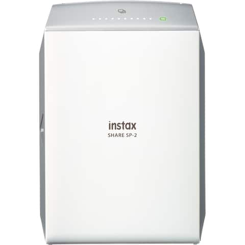 instax SHARE SP-2 Zero Ink Printer - Color - Photo Print - Portable - Silver