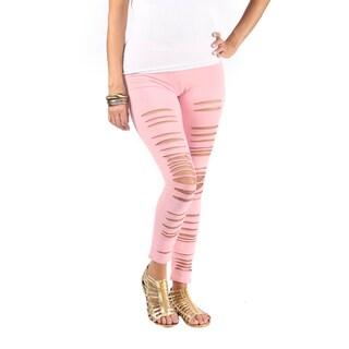 Hadari Women's Pink Leggings