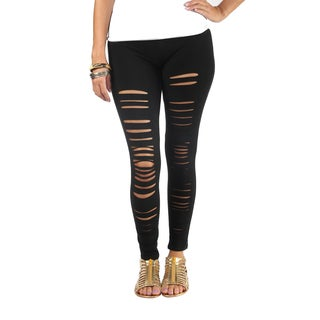 Hadari Woman's Black leggings