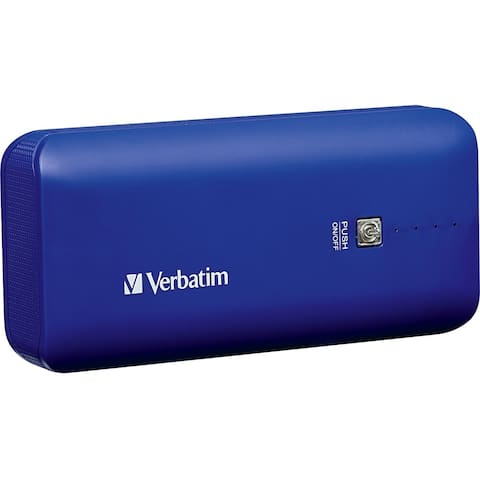 Verbatim Portable Power Pack, 4400mAh - Cobalt Blue
