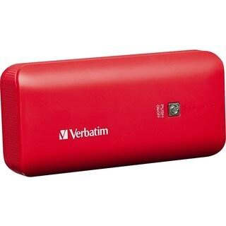 Verbatim Portable Power Pack, 4400mAh - Red