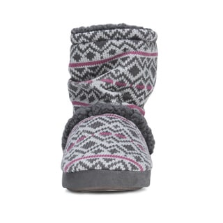 Muk Luks Women's Scrunch Bootie Slipper