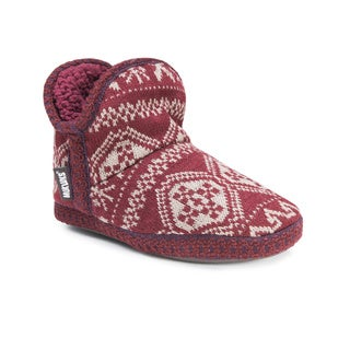 Muk Luks Women's Patterned Amira Slipper