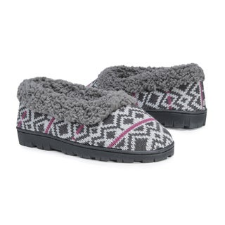 Muk Luks Women's Patterned Slipper