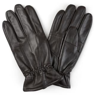 Vance Co. Men's Lined Leather Sheepskin Gloves|https://ak1.ostkcdn.com/images/products/12182035/P19032148.jpg?impolicy=medium