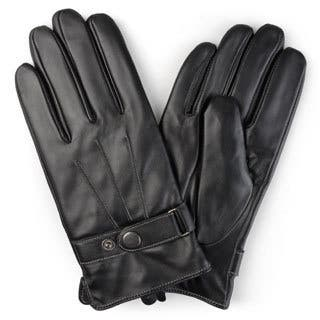 Vance Co. Men's Lined Leather Sheepskin Gloves|https://ak1.ostkcdn.com/images/products/12182037/P19032150.jpg?impolicy=medium