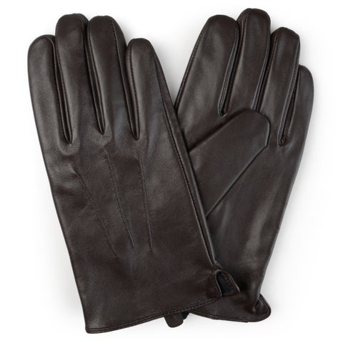 Vance Co. Men's Lined Leather Sheepskin Gloves
