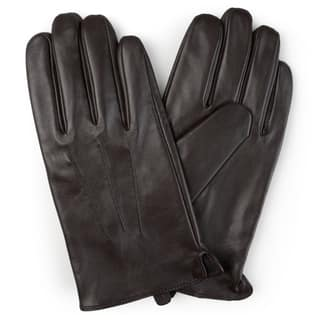 Vance Co. Men's Lined Leather Sheepskin Gloves|https://ak1.ostkcdn.com/images/products/12182038/P19032151.jpg?impolicy=medium