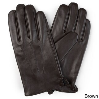 Vance Co. Men's Lined Leather Sheepskin Gloves (More options available)