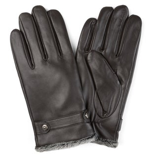 Vance Co. Men's Lined Leather Sheepskin Gloves|https://ak1.ostkcdn.com/images/products/12182039/P19032152.jpg?_ostk_perf_=percv&impolicy=medium