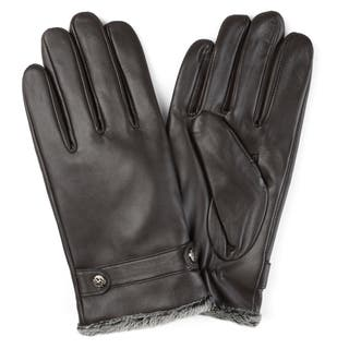 Vance Co. Men's Lined Leather Sheepskin Gloves|https://ak1.ostkcdn.com/images/products/12182039/P19032152.jpg?impolicy=medium