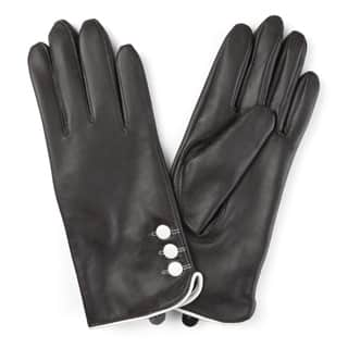 Journee Collection Women's Lined Leather Sheepskin Gloves|https://ak1.ostkcdn.com/images/products/12182040/P19032153.jpg?impolicy=medium