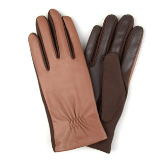 Journee Collection Women's Lined Leather Gloves (More options available)