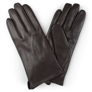 Journee Collection Women's Lined Leather Sheepskin Gloves|https://ak1.ostkcdn.com/images/products/12182057/P19032158.jpg?impolicy=medium