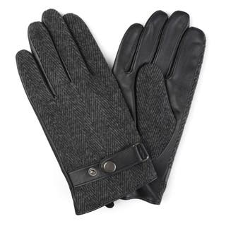 Vance Co. Men's Lined Leather Sheepskin Gloves|https://ak1.ostkcdn.com/images/products/12182058/P19032159.jpg?impolicy=medium