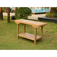Tortuga Outdoor Teak Console Table