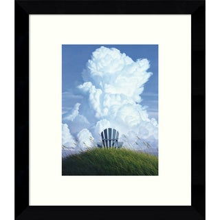 Framed Art Print 'Forever (Clouds)' by Jack Saylor 9 x 11-inch
