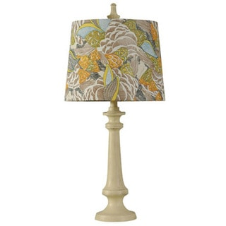 Journee Home 'Springfield' 29 in. Fabric Shade Traditional Table Lamp