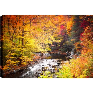 Nature-themed Landscape Photography Multicolored Canvas Wall Art