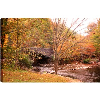 Hobbitholeco., P.T.Turk, Fall Colors, Landscape Photography, 24 x 36, Gallery Wrapped Ready to Hang Wall Art Decor