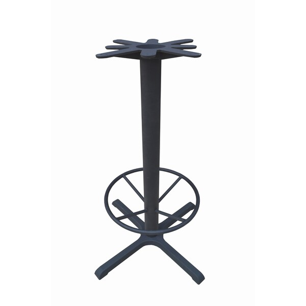 Shop JI Bases Castiron X Inch Prong Barheight Table Base - 30 inch table base