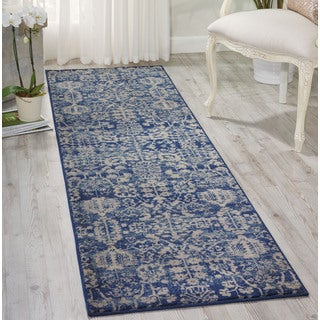 Nourison Somerset Navy Area Rug (2' x 5'9)