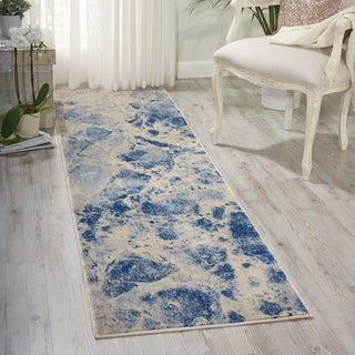 Nourison Somerset Blue Area Rug (2' x 5'9)
