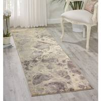 Nourison Somerset Grey Area Rug (2'3 x 8')