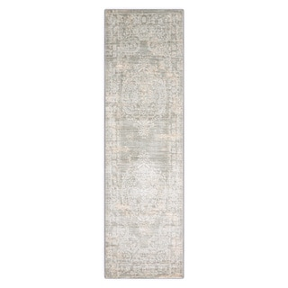 Nourison Euphoria Grey Area Rug (2'2 x 7'6)