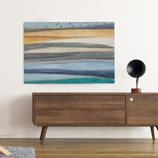 'Layers Of The Earth' Quality Hand-wrapped Canvas by Tava Studios