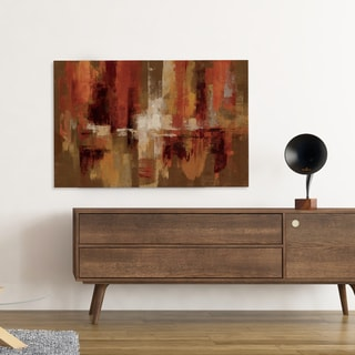 'Running Free II' Hand-wrapped Canvas Wall Art