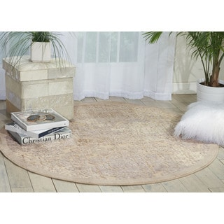 Nourison Graphic Illusions Ivory Area Rug (7'9 Round)
