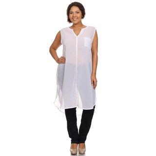 Hadari Woman Sleeveless sheet tunic