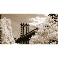ArtMaison Canada. P.T.Turk 'Sky Bridge' 18-inch x 24-inch Ready-to-hang Gallery-wrapped Landscape Photography Wall Art