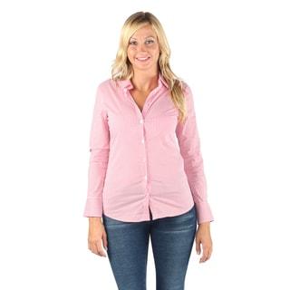 Hadari Woman strips dress shirt