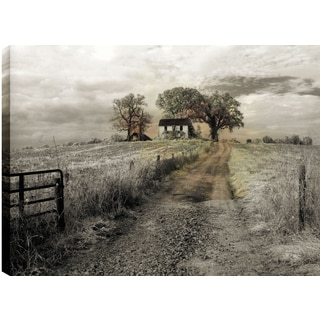 P.T. Turk 'Path To The Farm' Landscape Photography Wall Art