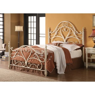 Coaster Company White Metal Queen Bed