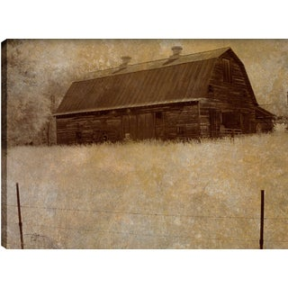 Hobbitholeco P.T. Turk 'The Hut' 18-inch x 24-inch Gallery-wrapped Ready to Hang Landscape Photography Wall Art Decor
