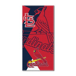 MLB 722 Cardinals Puzzle Beach Towel