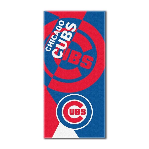 MLB 722 Cubs Puzzle Beach Towel