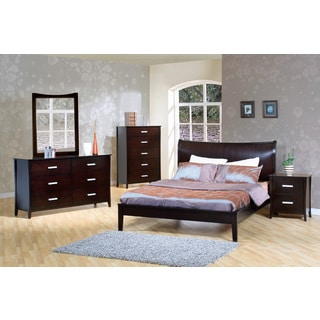 Coaster Company Furniture Stuart Contemporary Queen Platform Bed in Cappuccino