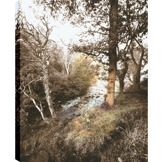Hobbitholeco P.T.Turk 'The Slope' 18-inch x 24-inch Gallery-wrapped Ready-to-hang Landscape Photography Wall Art Decor