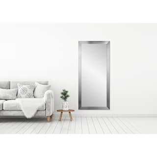 Silver, Leaning Mirrors For Less | Overstock
