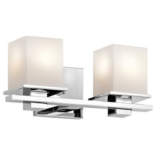 Kichler Lighting Tully Collection 2-light Chrome Bath/Vanity Light