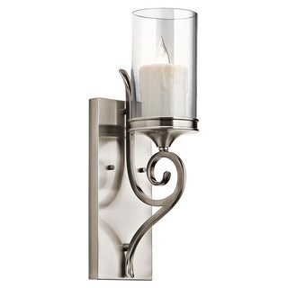 Kichler Lighting Lara Collection 1-light Classic Pewter Wall Sconce