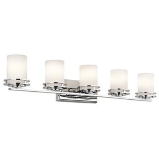 Kichler Lighting Hendrik Collection 5-light Chrome Bath/Vanity Light