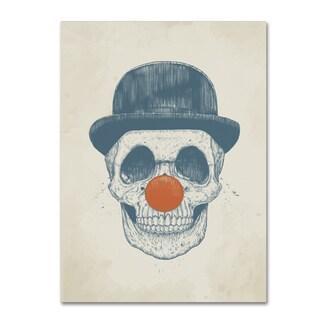 Balazs Solti 'Dead Clown' Canvas Art